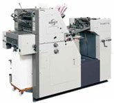 A3-size portrait format offset press 340PCX-2