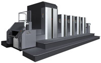 B2-size liquid toner type digital printing offset press