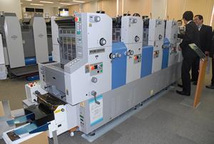 A3判縦通し印刷機 RYOBI 3304HA + 封筒給紙装置(LED-UV搭載)